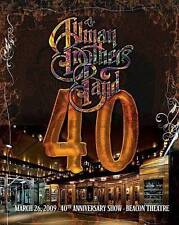 THE ALLMAN BROTHERS BAND: 40 - 40TH ANNIVERSARY SHOW, BEACON THEATRE (NEW DVD)