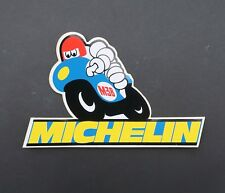 Autocollant 36 MICHELIN Bibendum pneu tyre sticker Aufkleber Adesivi 16x10,5cm