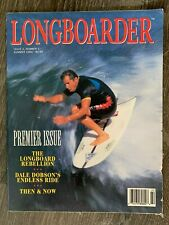Longboarder Surfing Magazine unshipped case of the Very First Issue 62 Issues