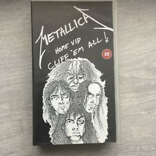 Metallica-Cliff Em All Music Video