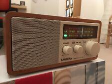 Sangean WR-11 Radio Nußbaum, OVP