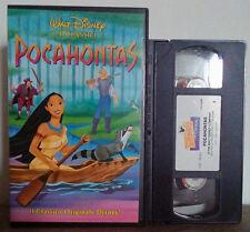 VHS FILM Cartoni Animati Walt Disney POCAHONTAS Classici VS 4568(VHS9)