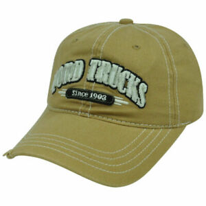 Ford Trucks Cap Kappe One Size Slouch Garmet Wash used Style Kappe
