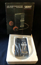 NOS VINTAGE VERIT AM SPORTS COMPACT POCKET RADIO New Old Stock 50s OR 60s