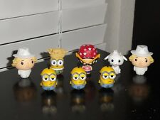 FUNKO PINT SIZE HEROES DESPICABLE ME 3 LOT OF 8 VINYL FIGURES