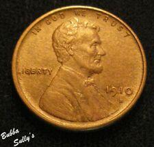 1910 S Lincoln Cent <> AU++ Details
