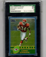 2003 Topps Chrome Larry Johnson Rookie Card!! SGC 96 MINT Kansas City Chiefs RB!