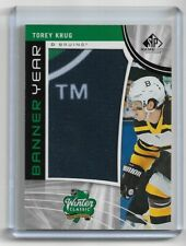 2019-20 SP Game Used Torey Krug Banner Year Winter Classic