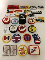 Patches VIntage Ford Formula 1 Peterbilt Plymouth Sylvester Hurst Red Baron 161
