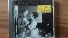 CD OST Soundtrack  Anthony Adverse , Erich Wolfgang  Korngold   wie neu