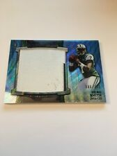 Geno Smith Jets 2013 Bowman Sterling Blue Wave Rookie Patch #BSJRP-GS 86/171