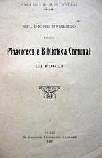 ROMAGNA FORLI' ARTE BIBLIOTECA COMUNALE