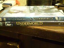 (3) Underworld Vampire Horror DVD Lot: Underworld Evolution & Rise of the Lycans