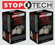 [FRONT + REAR SET] STOPTECH Sport Performance Disc Brake Pads STP37722