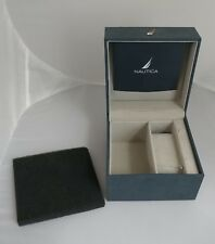 Nautica Watch Set Box with Pillow and Manual NEW