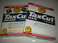 TaxCut 2003 Deluxe Tax Cut with State. New in boxes.