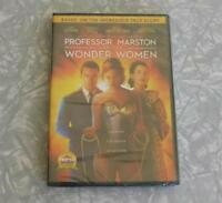 Professor Marston An The Wonder Women DVD New/Sealed 2018 Region 1 Free Shipping