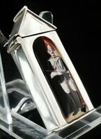 Silver Enamel Sentry Box Vesta Case, The Royal Horse Guards