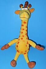 "Adorable Plush Yellow Orange Stars Geoffrey Giraffe Stuffed Animal Toys R Us 17"""
