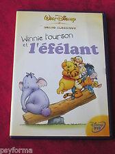 DVD walt Disney / Winnie l'Ourson et l'éfélant / N° 79 / Bon état.