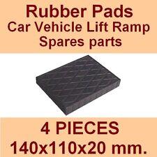 Universal Scissor Lift Pads - H20 - Ramp Rubber Blocks - Made in Italy