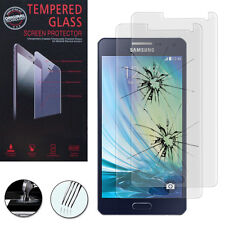 2X Safet 00004000 y Glass for Samsung Galaxy A5 Sm-A500F A500H Genuine Screen Protector
