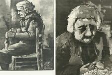 Documento Invito Mostra Autografo Pittore Luigi Dugo Reggio Calabria 1976