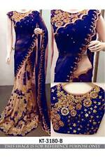 DESIGNER BEAUTIFULL WEDDING SAREE SARI LEHENGA PARTYWEAR INDIAN DRESS
