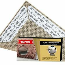Upgraded Rug Grippers 16 pcs Non Skid Rug Gripper, Non Slip Rug Pad Keeps Your R