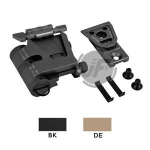 Magnifier Flip Mount QD Flip-To-Side for EOTech G23 G33 Fits 20mm Picatinny Rail