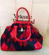 Vivienne Westwood Check Handbags