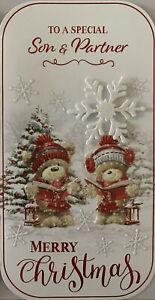 SON AND PARTNER CHRISTMAS CARD