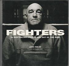 Fighters: 25 Australian Lives In & Out of the Ring by Jack Finlay (PB 2001) #KAA