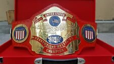 NWA US HEAVYWEIGHT WRESTLING CHAMPIONSHIP BELT.ADULT SIZE