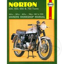 Norton 88 500 Dominator 1957-1963 Haynes Service Repair Manual 0187