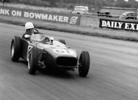 MOTOR RACING OLD PHOTO Driven By Major Mallock At Silverstone 1961
