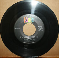 JIMMY HUGHES Why Not Tonight **MAN OF ACTION** Northern Soul 45 on FAME 1101