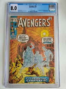 CGC 8.0 AVENGERS #85 1ST APPEARANCE OF THE SQUADRON SUPREME