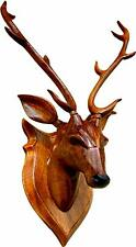 Deer Head Animal Figure Large Stag Head Wall Mounted Home Decor Organizer 44cm