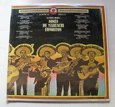 various SONES DE MARIACHI FAVORITOS historia musica mexicana VI 2LP MC-1127/28