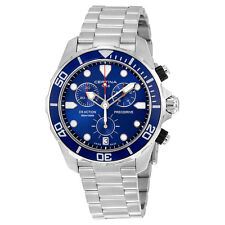Certina DS Action Chronograph Blue Dial Stainless Steel  Mens Watch