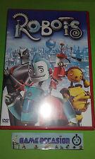 ROBOTS ANIMACIÓN NIÑOS (POR LES CREADORES DEL'AÑOS DE EDAD GLACE) DVD
