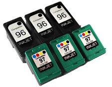 6PK FOR HP 96 HP 97 C8767WN C9363WN 3/3 DESKJET 6830 6830v 6840 9800 9800d 6988