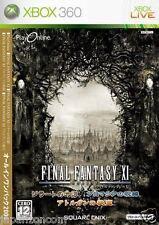Used Xbox 360 Final Fantasy XI MICROSOFT  JAPAN JAPANESE JAPONAIS IMPORT