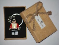 Michael Jackson Singer Keychain - legoMovie