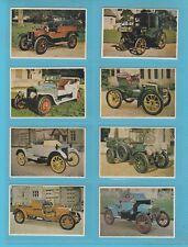 CARS - MONTAGU MOTOR MUSEUM - SET OF M 24 VETERAN & VINTAGE CARS 2ND  -  1961