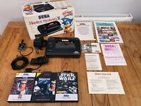Sega Master System 2 Boxed Complete with Controller and 3 RARE Games