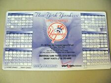 MLB - New York Yankees 2005 Magnetic Schedule - NICE