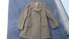 WWII US WOOL OVERCOAT MILITARY ARMY AIR CORPS LIEUTENANT UNIFORM  J.F. MARSH