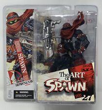 "Mcfarlane The Art Of Spawn 6"" Series 27 Issue I.131 Cover Art -2005 - Nib"